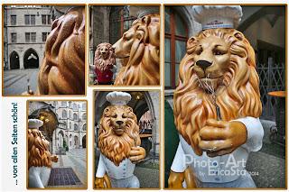 Prunkhof-Löwe von Heidrun