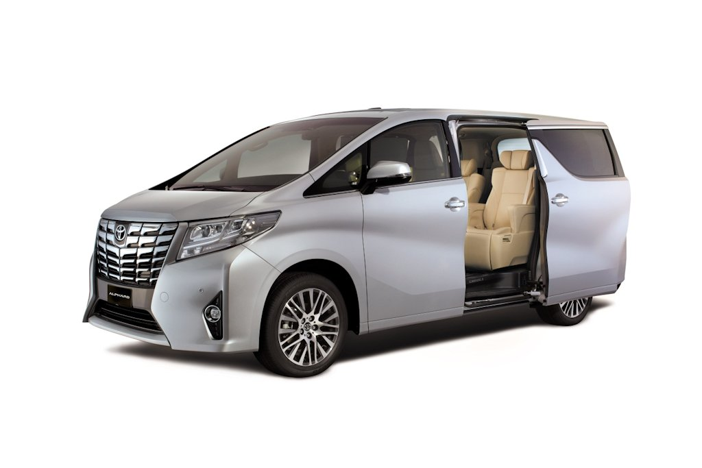 Toyota Alphard Is FirstClass Motoring Philippine Car News - All toyota cars with price