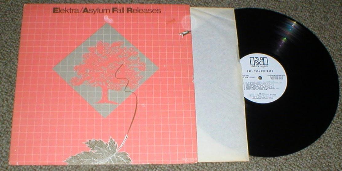 Various Elektra - Asylum Fall 1973 Releases