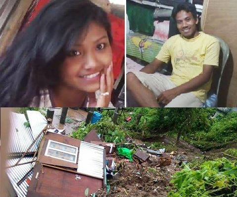 COUPLE BURIED IN THEIR HOUSE IN KALIMPONG DUE TO LANDSLIDE