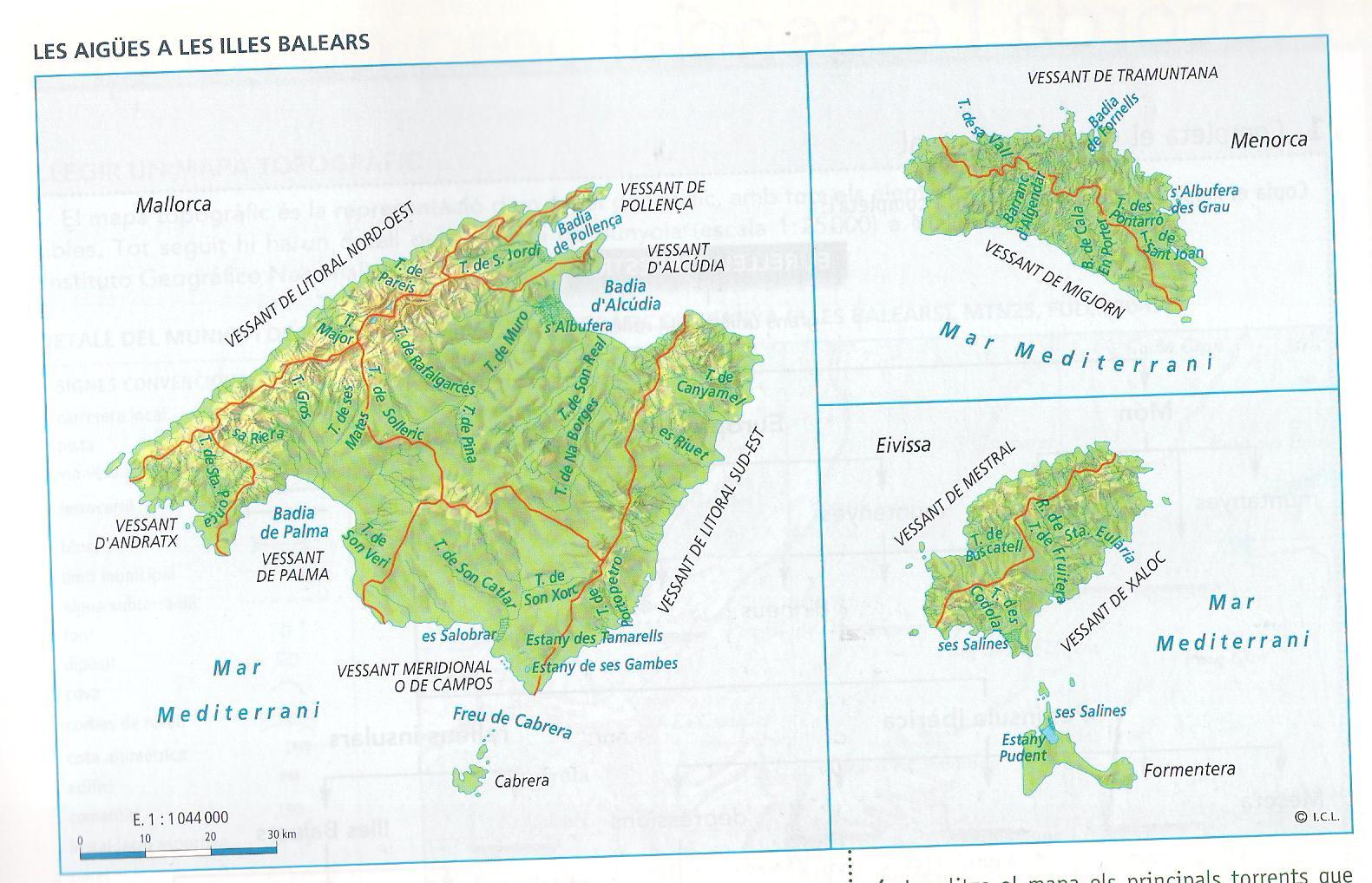 Geograf a - Islas de baleares ...