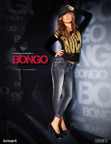 Audrina  Patridge New BONGO Ad Photos!