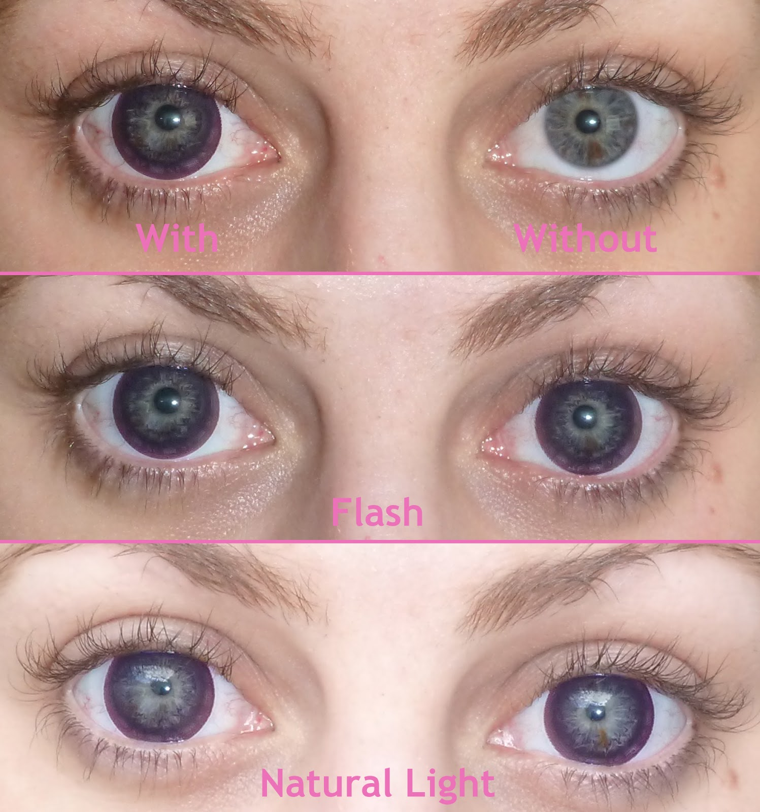 How To Have Purple Eyes Naturally