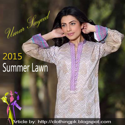House of Umar Sayeed Summer Lawn Collection 2015 Fashion