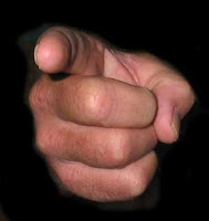 'Take away the yoke from your midst, the pointing of the finger, and speaking wickedness' (Isaiah 58:9)