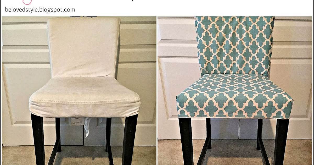 Beloved Style DIY Chair Reupholster No Sew