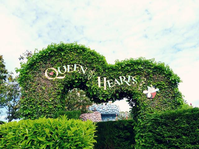 labyrinthe d'Alice la reine de coeur