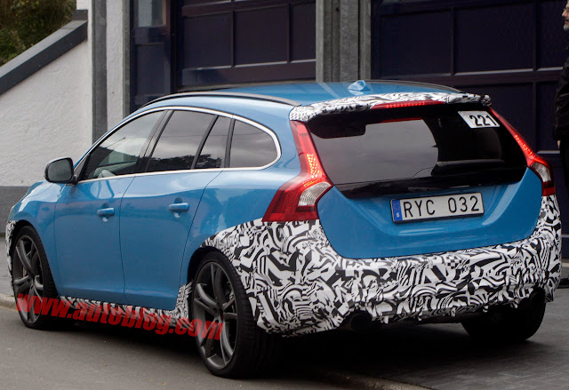 Volvo V60 Polestar 2014