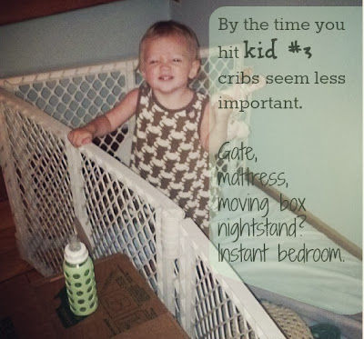 diy crib, make your own crib, ways for kids to sleep, mattress on floor