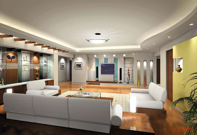 Modern Home Interior Design Program With Artistic Decoration