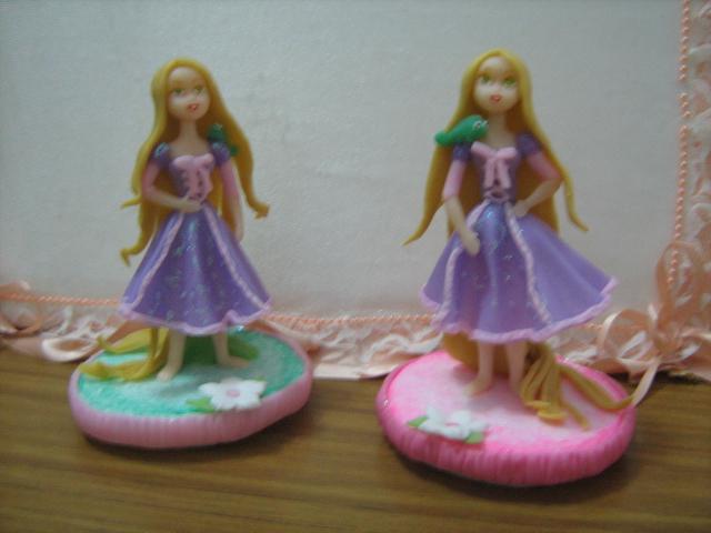 ARTESANIAS: Adorno de torta Rapunzel de Enredados