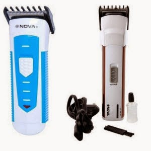 Nova Trimmer 2 in 1 Cordless and corded 3791 NHC Trimmer at Rs.285 at Flipkart