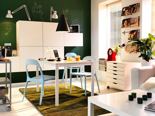 IKEA interior design ideas for small spaces  Home Decorating Cheap