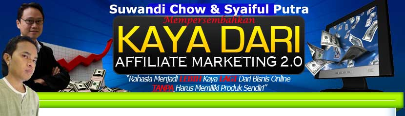 Belajar Bisnis Internet | Kaya dari Affiliate Marketing | Kaya Dari Facebook Marketing