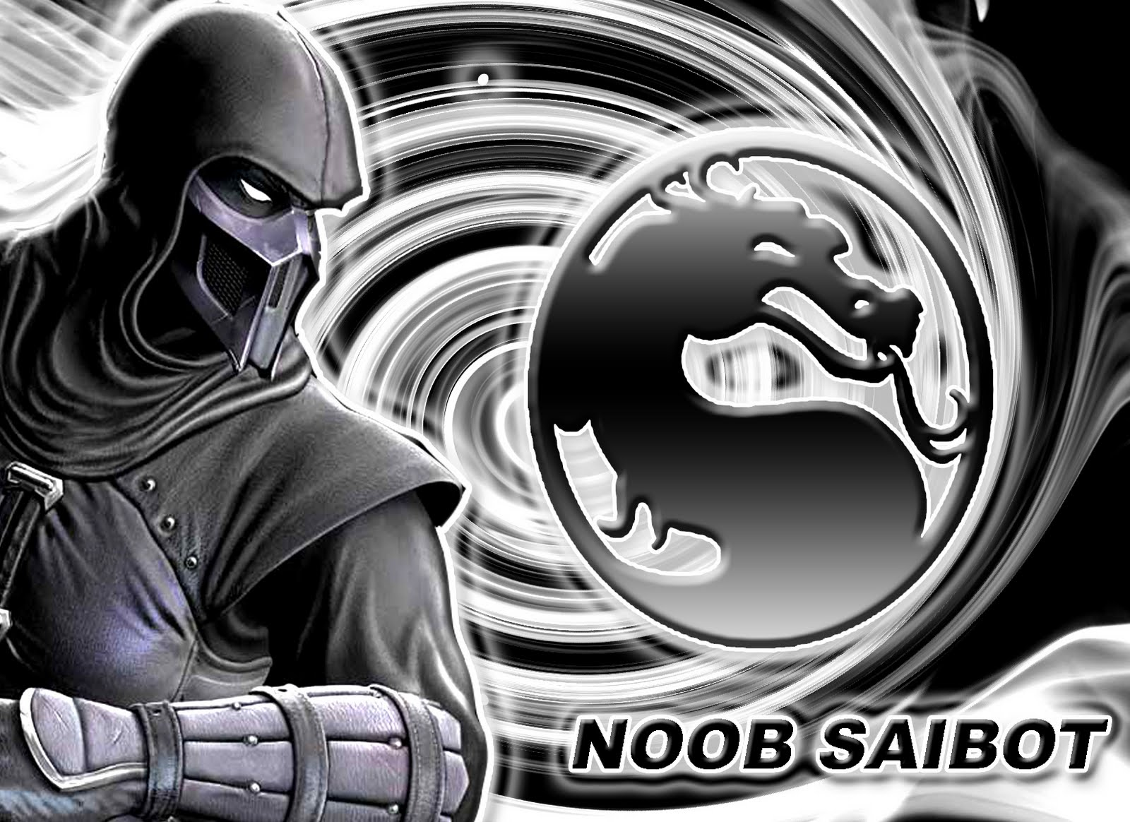 Mortal Kombat 9 Noob Saibot MK9 2011 Wallpaper