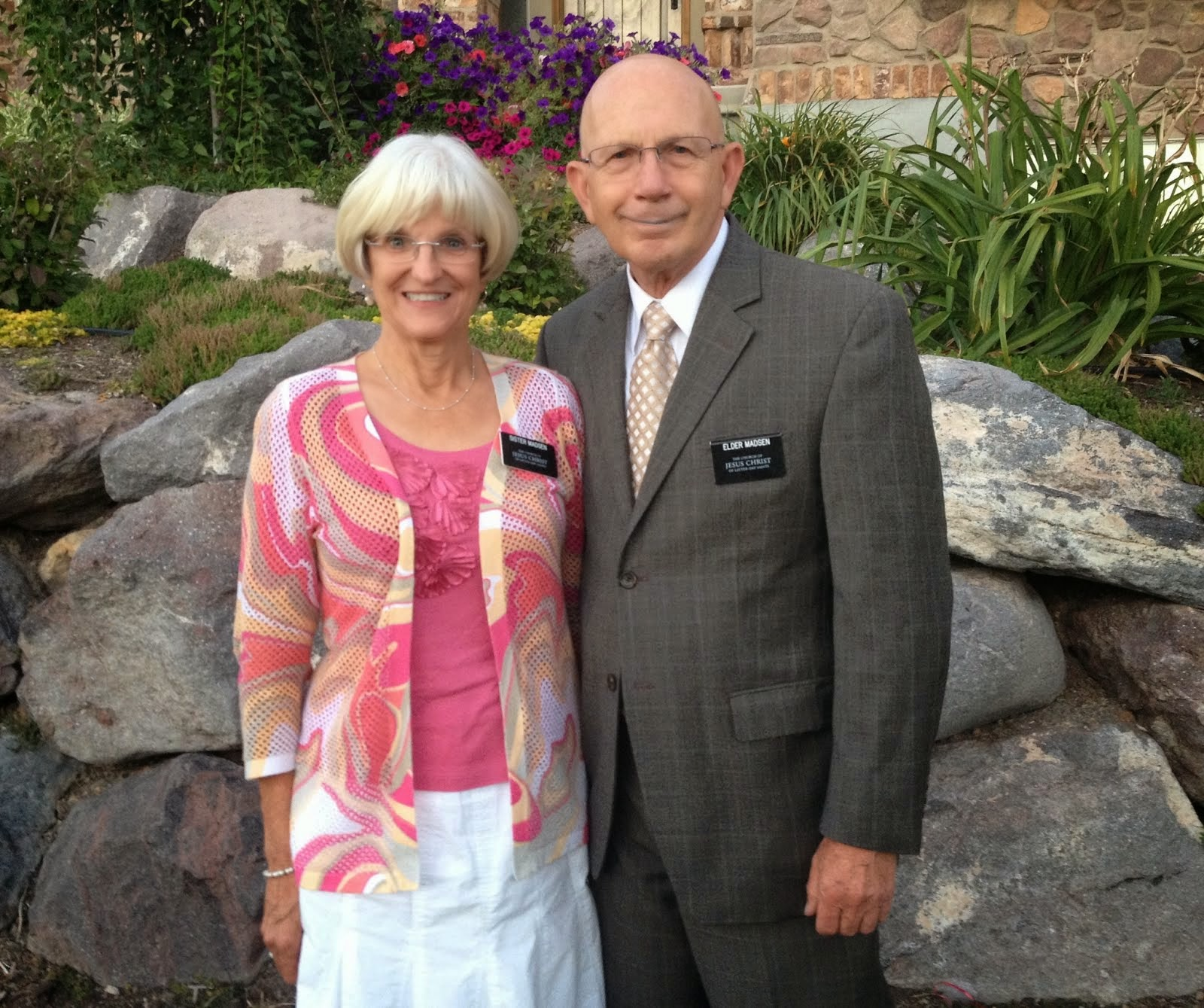 Elder and Sister Madsen