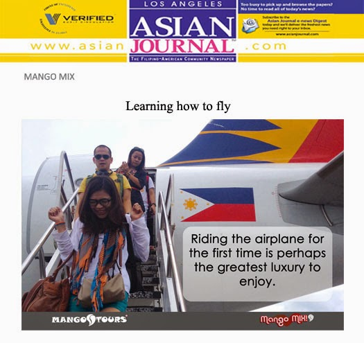 Mango Mix Asian Journal First time to fly