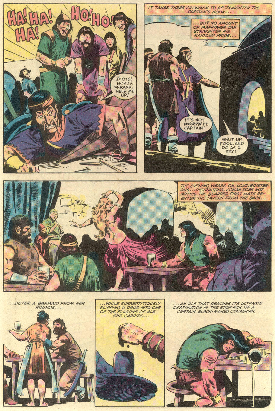 Conan the Barbarian (1970) Issue #140 #152 - English 11
