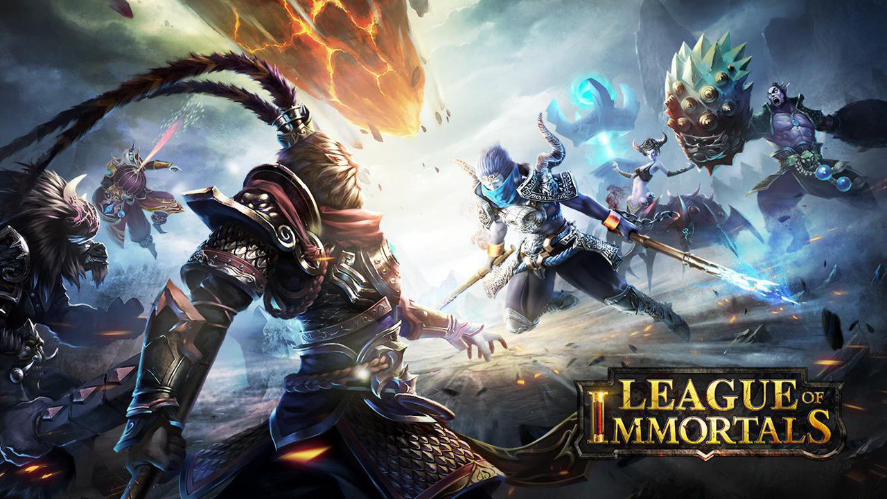 League of Immortals MOBA Gameplay IOS / Android