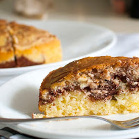 Torta Ricotta e Nutella