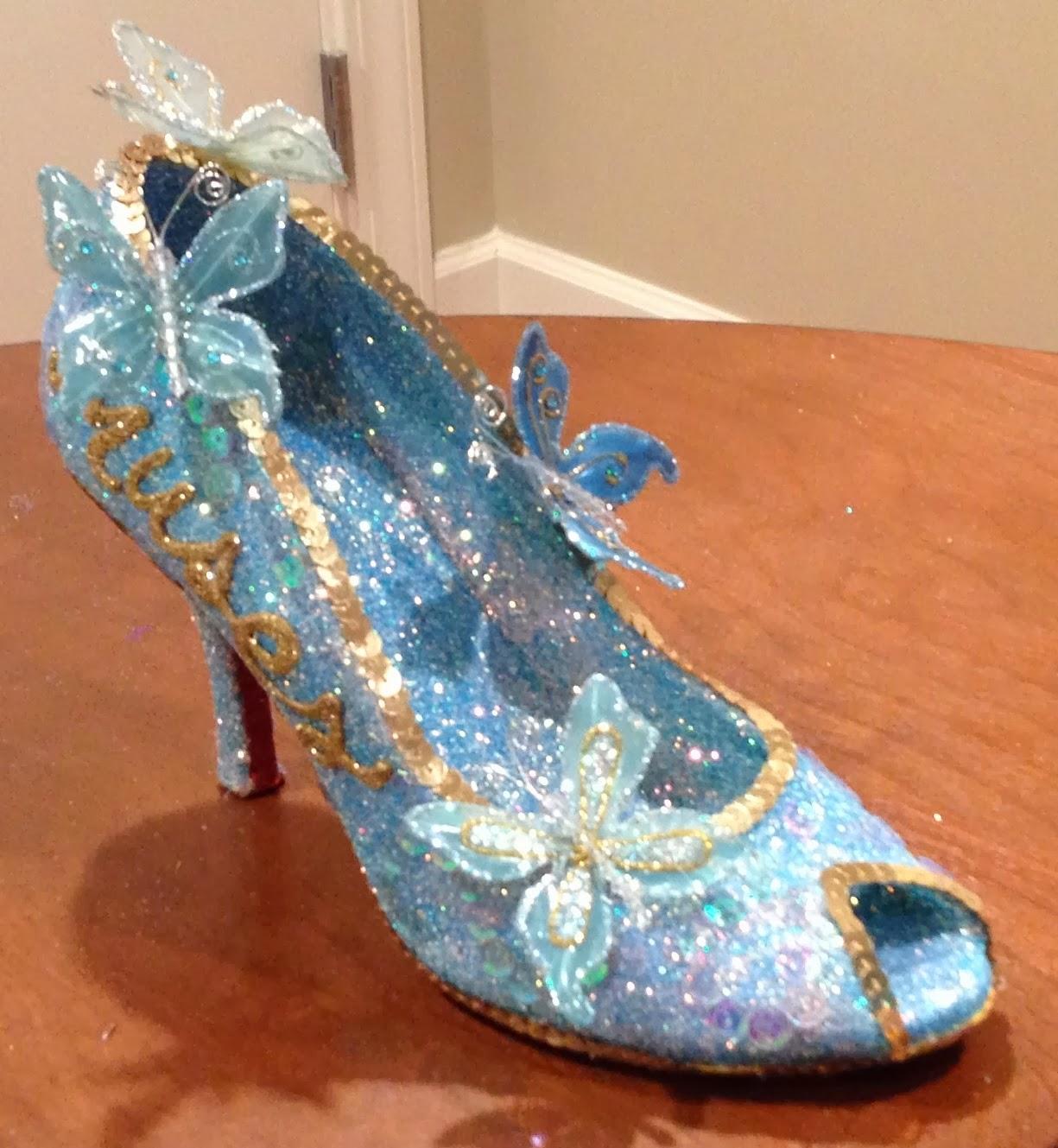 d450c2d40122 Confessions of a glitter addict  Cinderella Muses Shoe