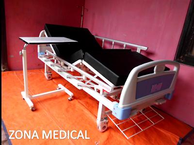 Tempat Tidur Pasien Rumah Sakit ABS 2 Crank SELLA [ RZ-29C ]