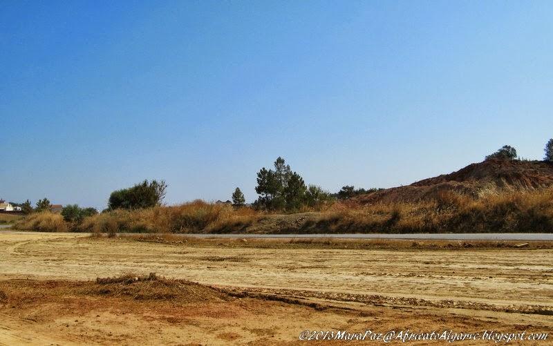 Algarve hill -flattened