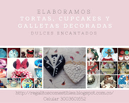 Dulces Encantados. Cookies and Cakes