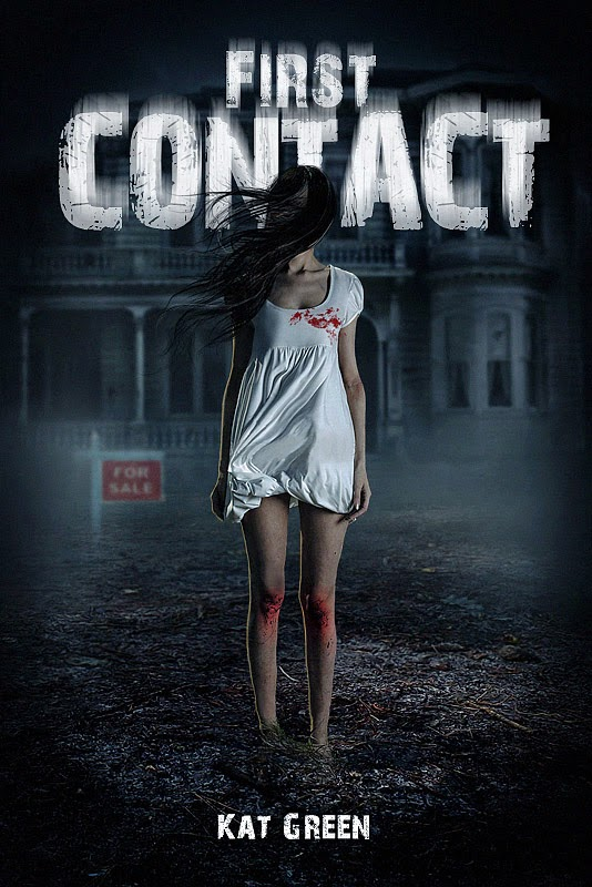 http://www.amazon.com/First-Contact-Haunts-Sale-Book-ebook/dp/B00MNM3NQG/ref=sr_1_1?s=digital-text&ie=UTF8&qid=1408337588&sr=1-1&keywords=first+contact+kat+green