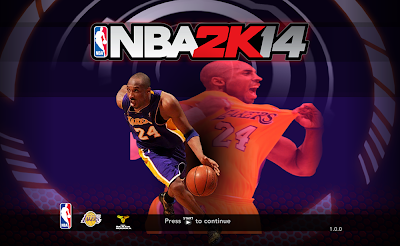 NBA 2K14 Kobe Bryant Game Cover Mod