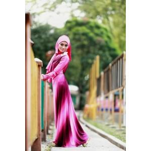Jilbab modern model Busana Muslim Baju Muslim Dress GREENDESIA dengan Manset dan Pasmina
