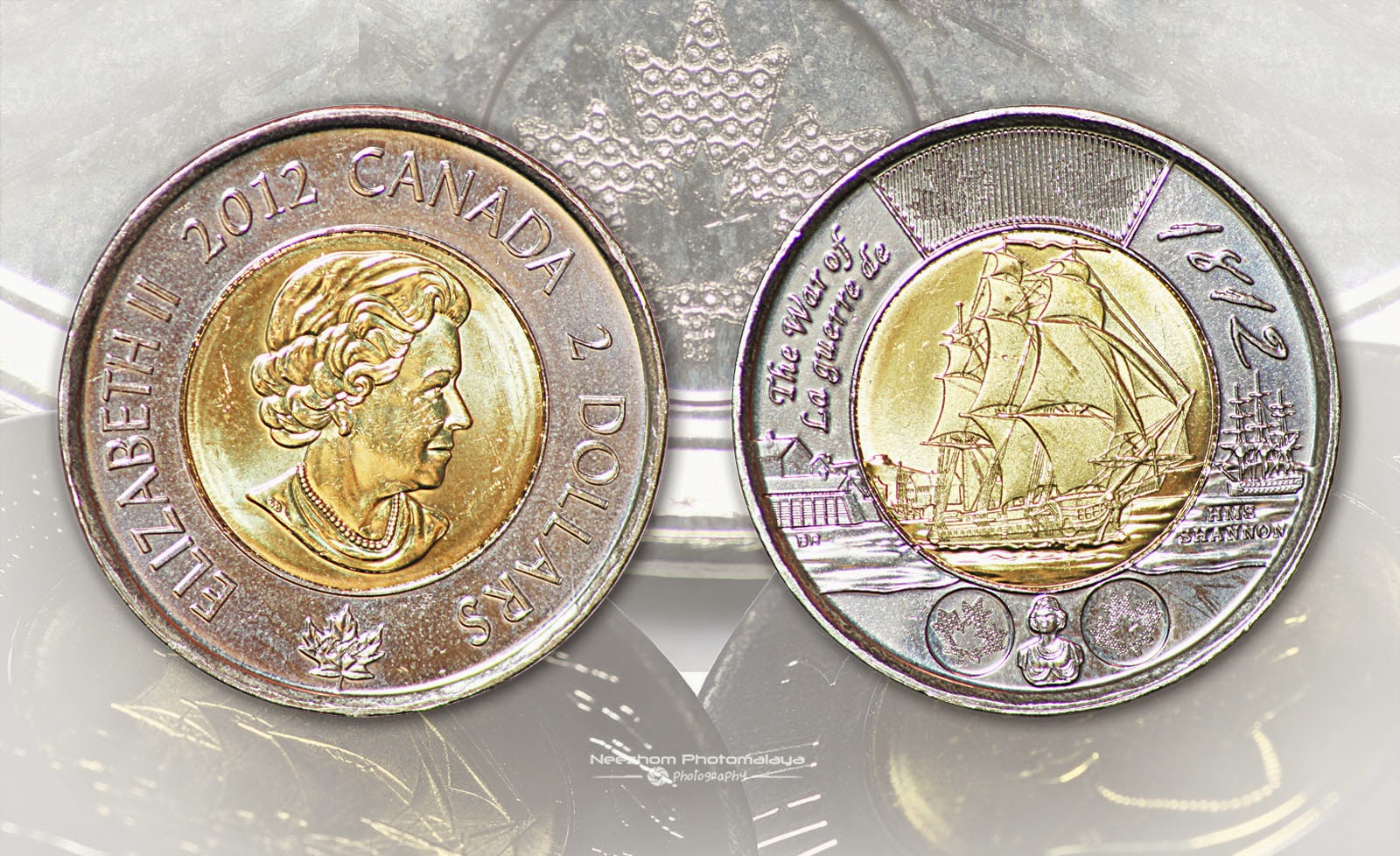 Canada 2 dollars 2012 - The war of La Guerre De