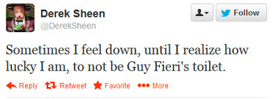 Guy Fieri Funny Tweet