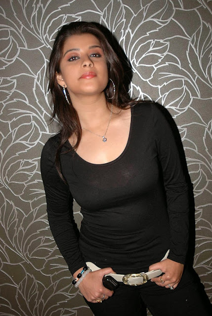 Madhurima In Black Dress