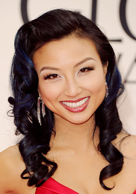 Jeannie Mai Long Curls Hairstyle Lookbook