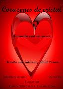 Corazones de cristal. Marita von Saltzen y Raúl Cuevas Sábado 9 de abril corazones de cristal