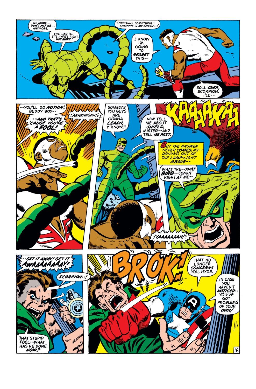 Captain America (1968) Issue #151 #65 - English 17
