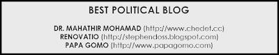 malaysian political, blog politik