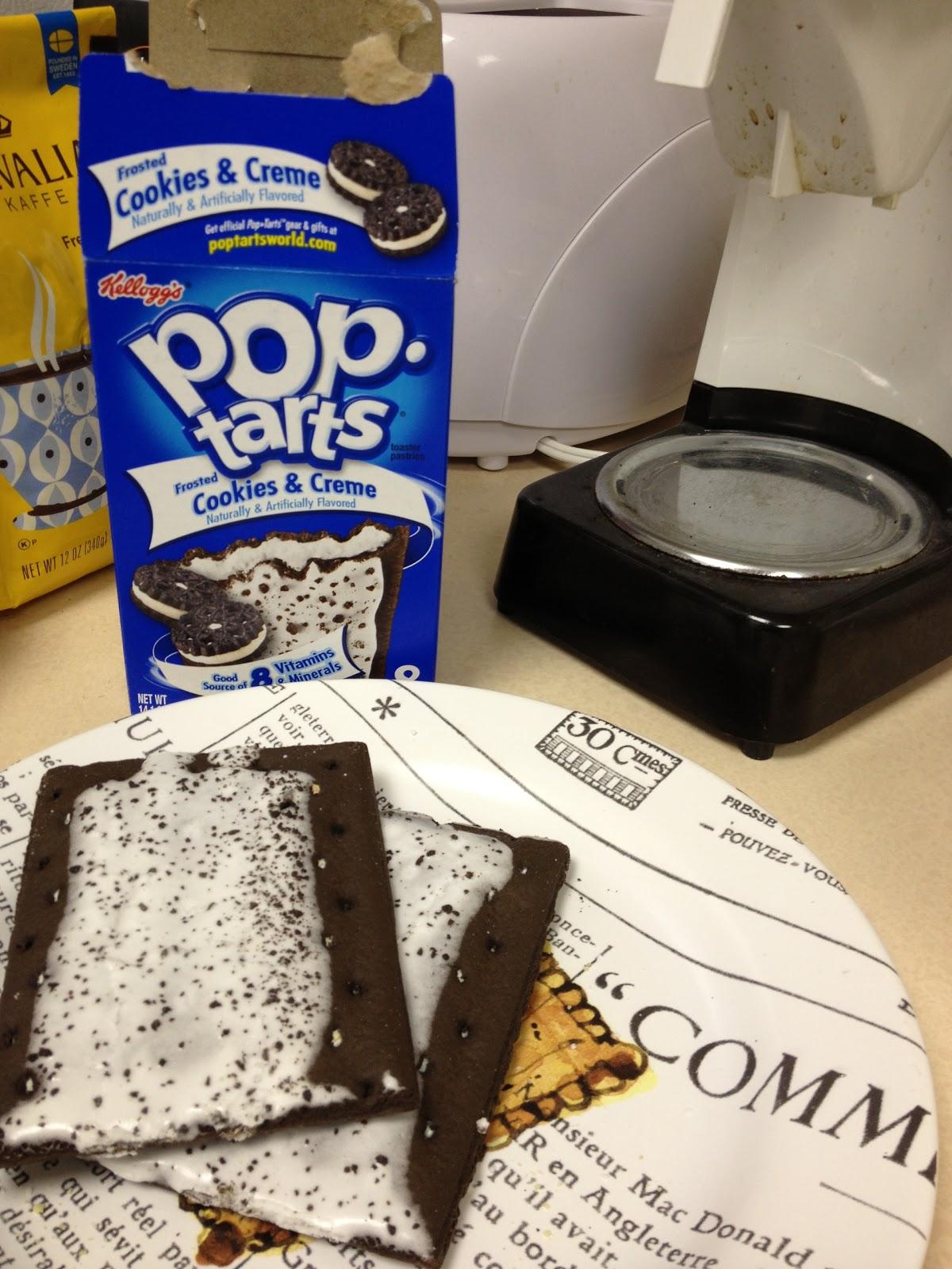 Weleens de Oreo Pop-Tarts gegeten? DOE HET NIET!!