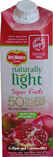 Del Monte Super Fruits Carton