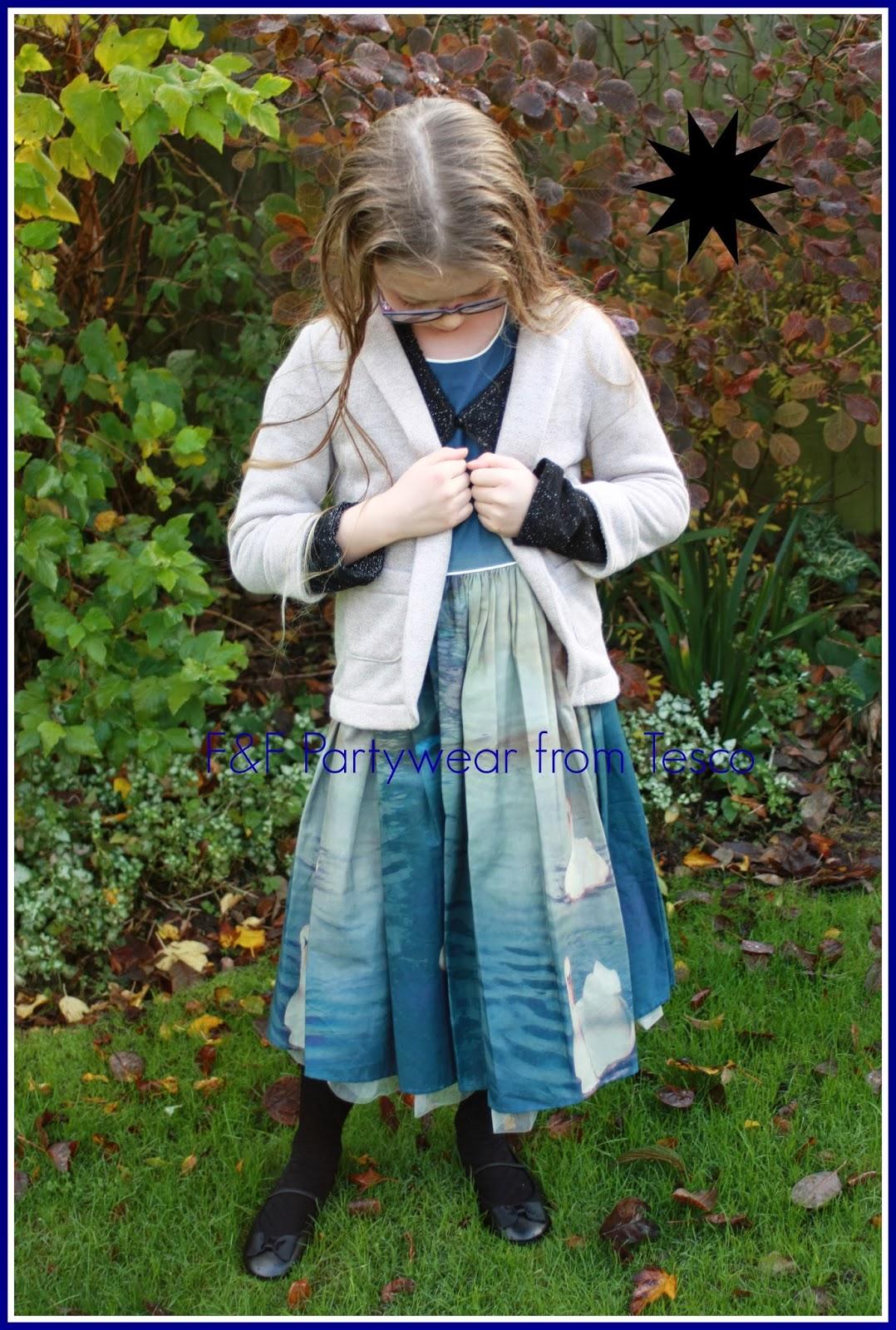 What she wore: F&F girls\' partywear - Mum of Three World