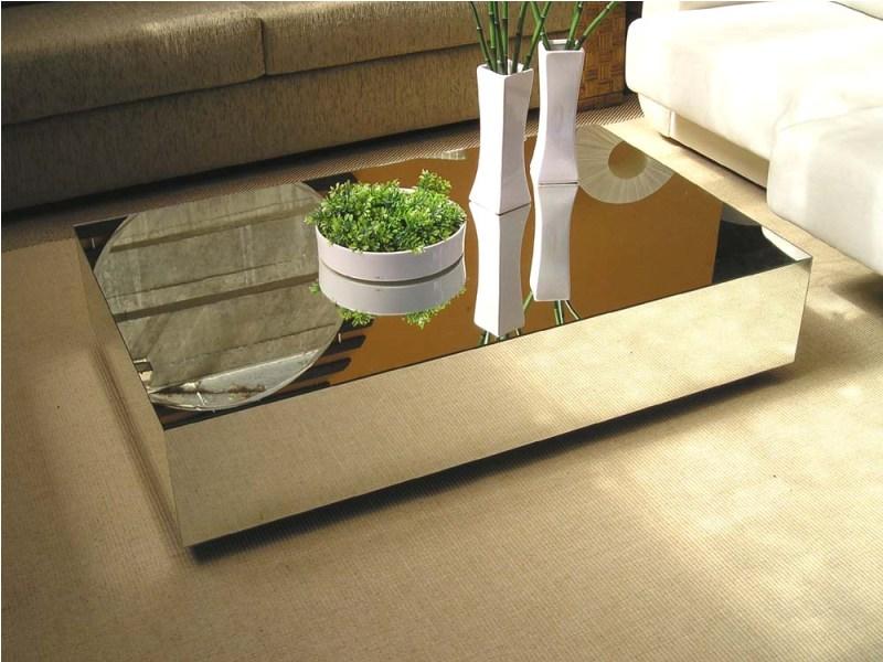 Ap 114 mesas de centro espelhadas - Mesa de centro lack ...