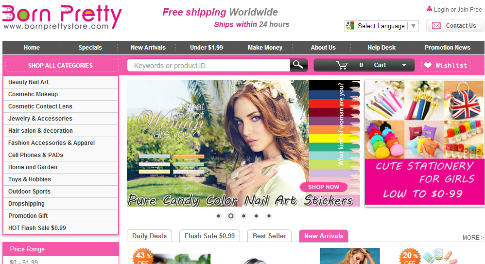 make up store online