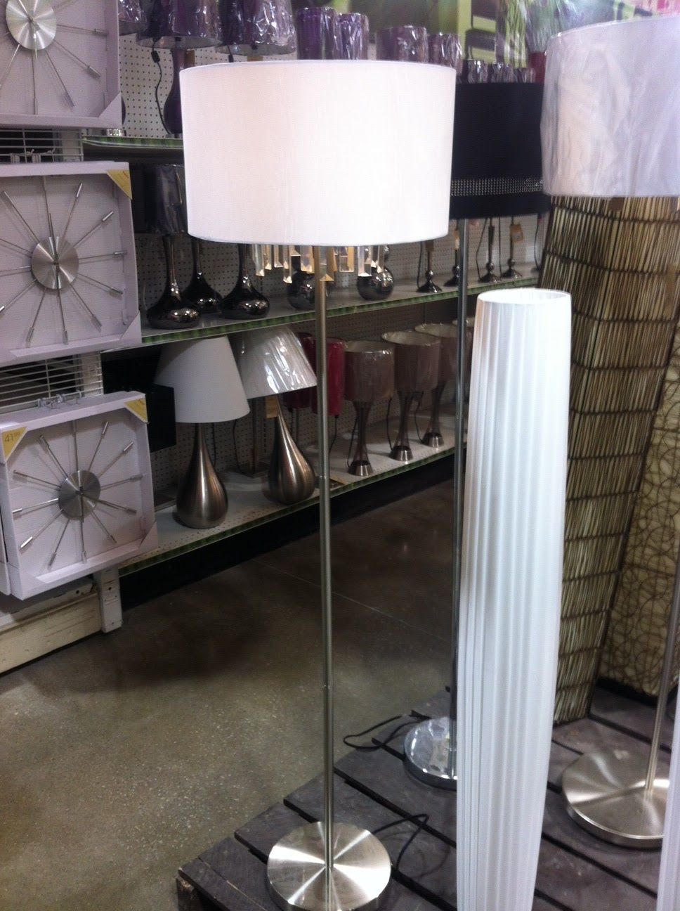 Homesense Floor Lamps: I bought this lamp to go in my living room! The jewels are detachable so. Homesense  Floor Lamps Soul ...,Lighting