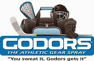 godors athletic spray label