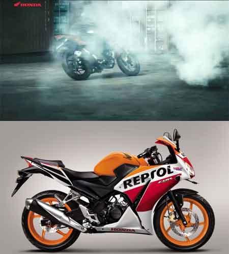 spesifikasi New Honda CB150R dengan CBR150R