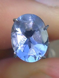 natural blue iolite