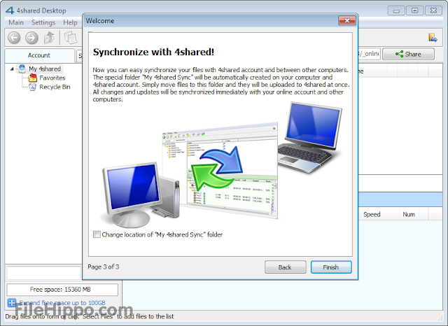 Free Download 4shared Desktop 4.0.0 Terbaru