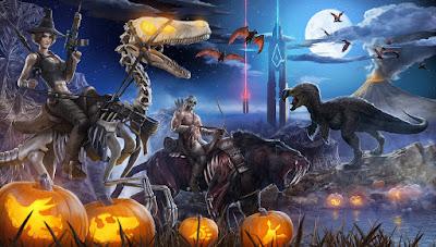 Хеллоуинский ивент в Ark