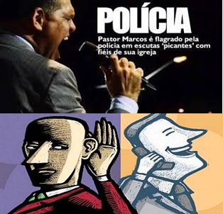 Polícia Grava áudio das escutas do pastor Marcos Pereira, VEJA AQUI